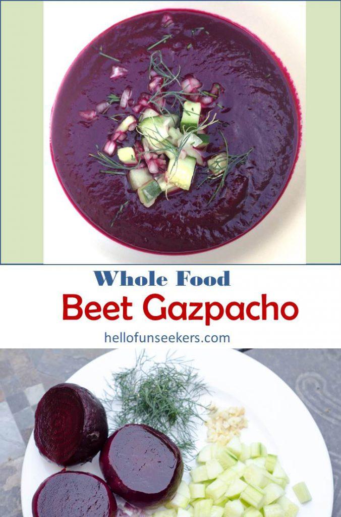 Beet Gazpacho Pin