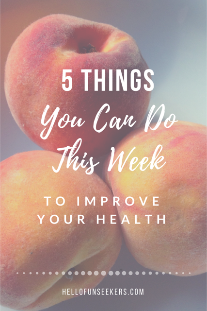 Five Things Improve Health
