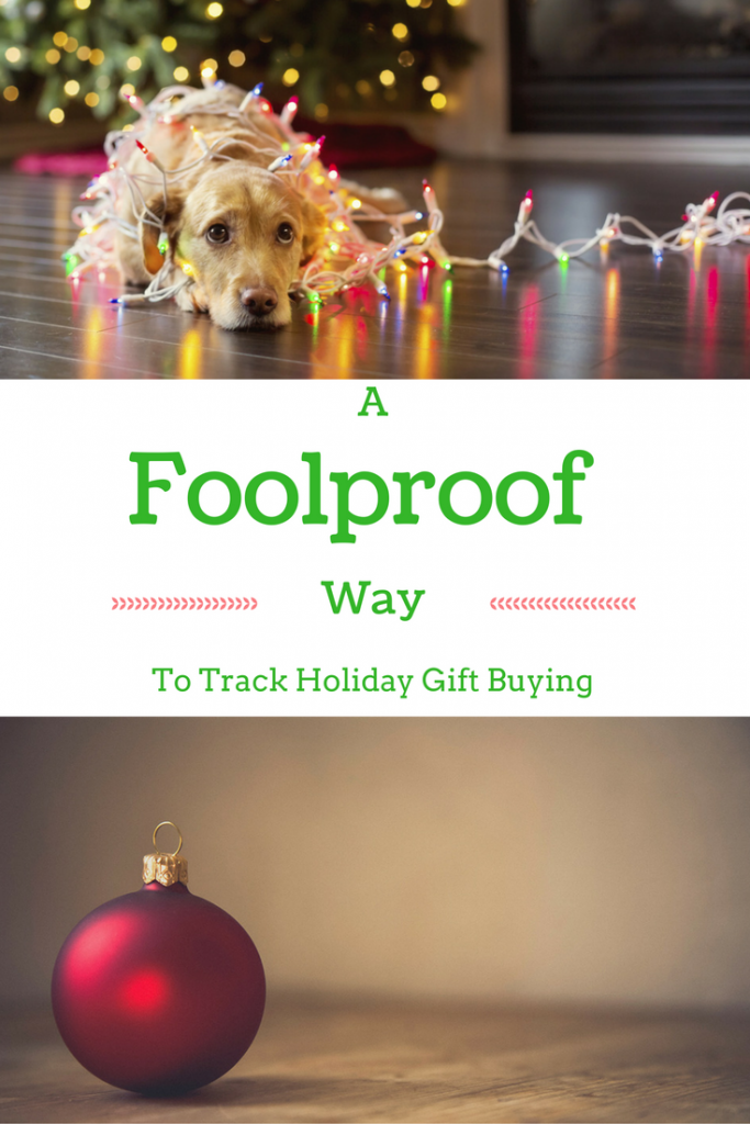 Holiday Shopping List | A Foolproof Way to Track Gift-Buying