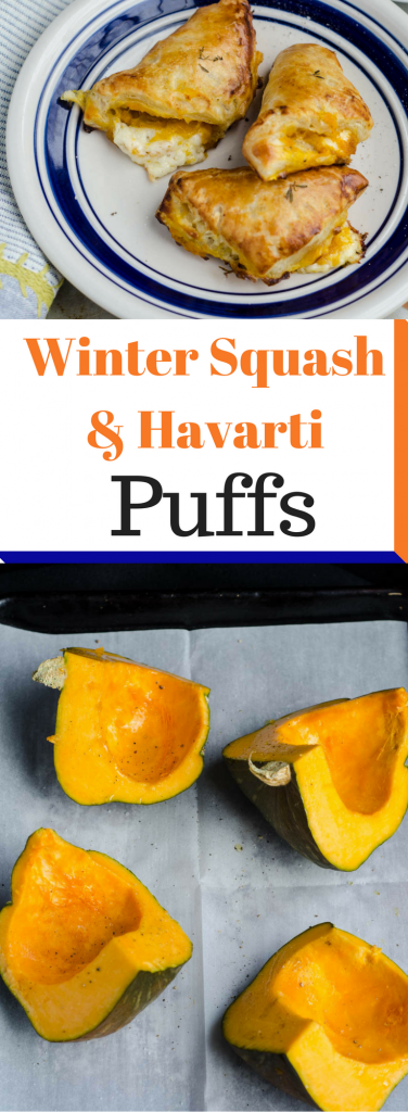 Winter Squash and Havarti Puffs