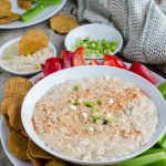 Kicked-up Goat Cheese Queso