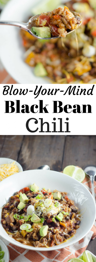 Blow Your Mind Black Bean Chili