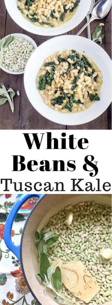 White Beans and Tuscan Kale