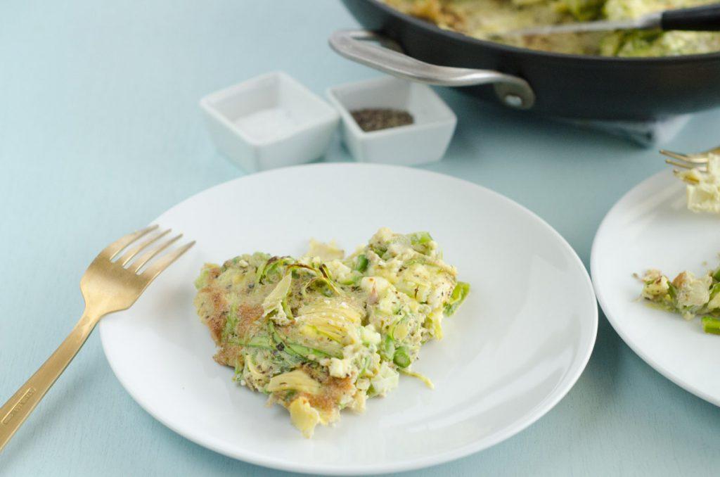 Asparagus and Artichoke Frittata
