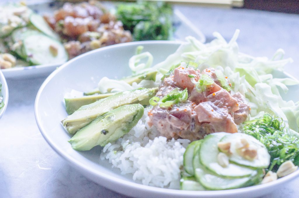 Spicy Ahi Tuna Poke