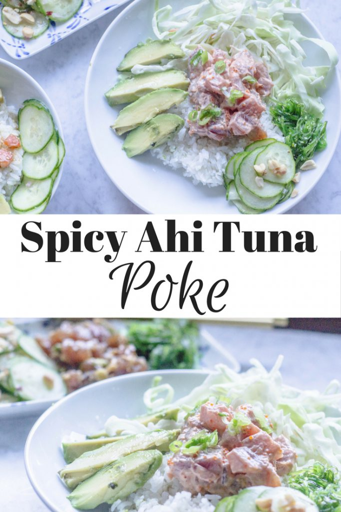 Spicy Ahi Tuna Poke Pin