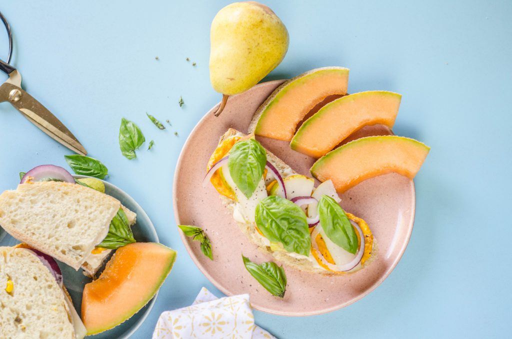Roasted Squash with Pear