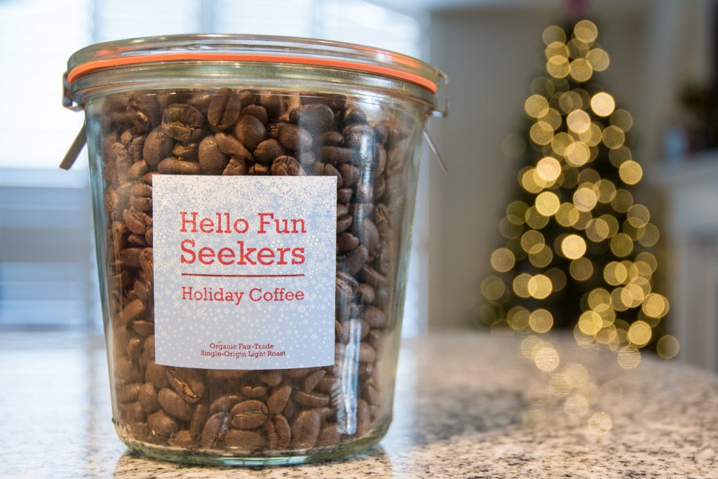 Hello Fun Seekers Coffee