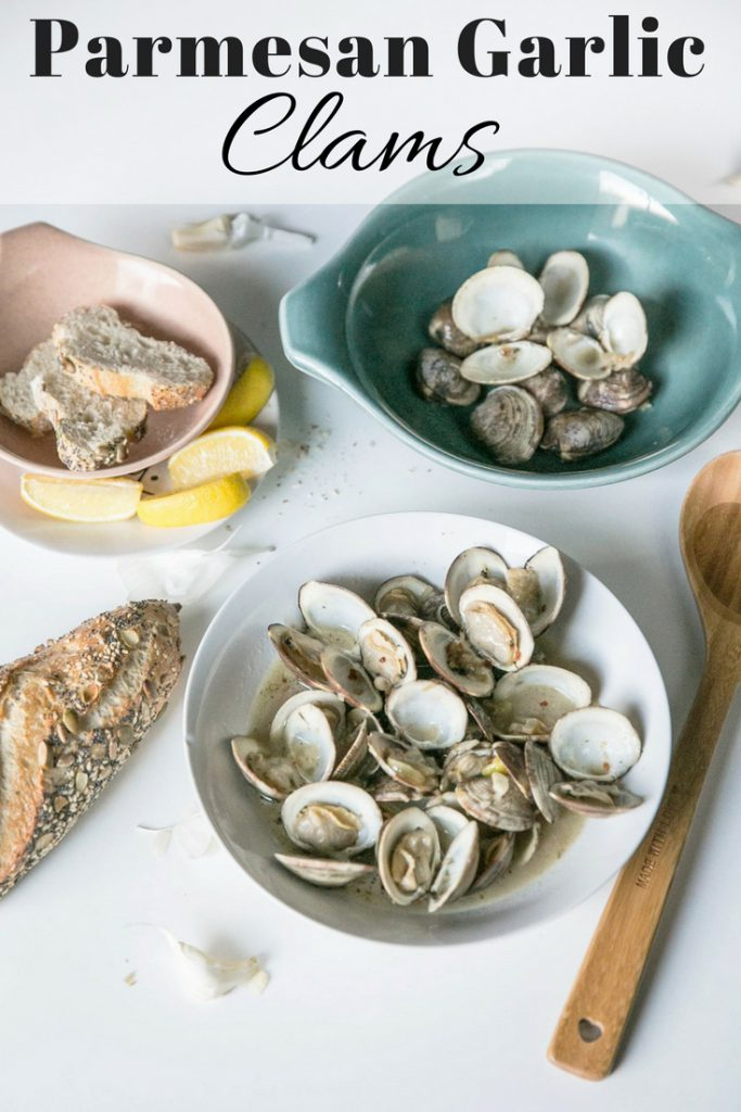 Parmesan Garlic Clams pin