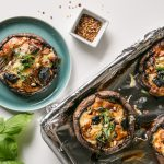 Portobello Mushroom Pizzas