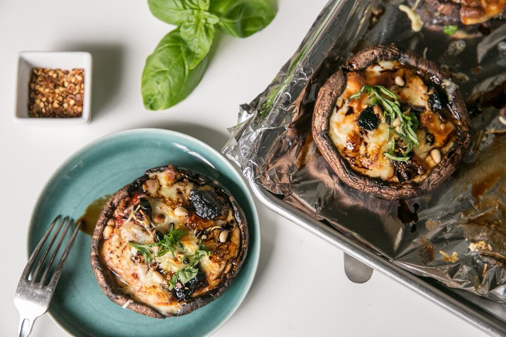Portabello Mushroom Pizza-8