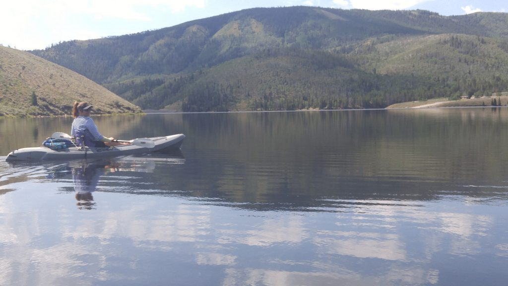 summer fun kayak