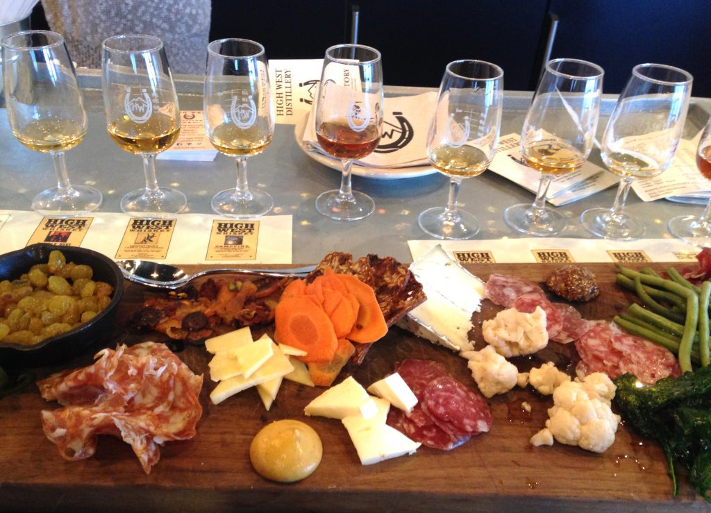 High West Whiskey Tasting Charcuterie