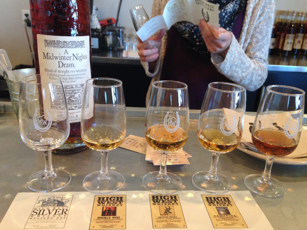 High West Whiskey Tasting