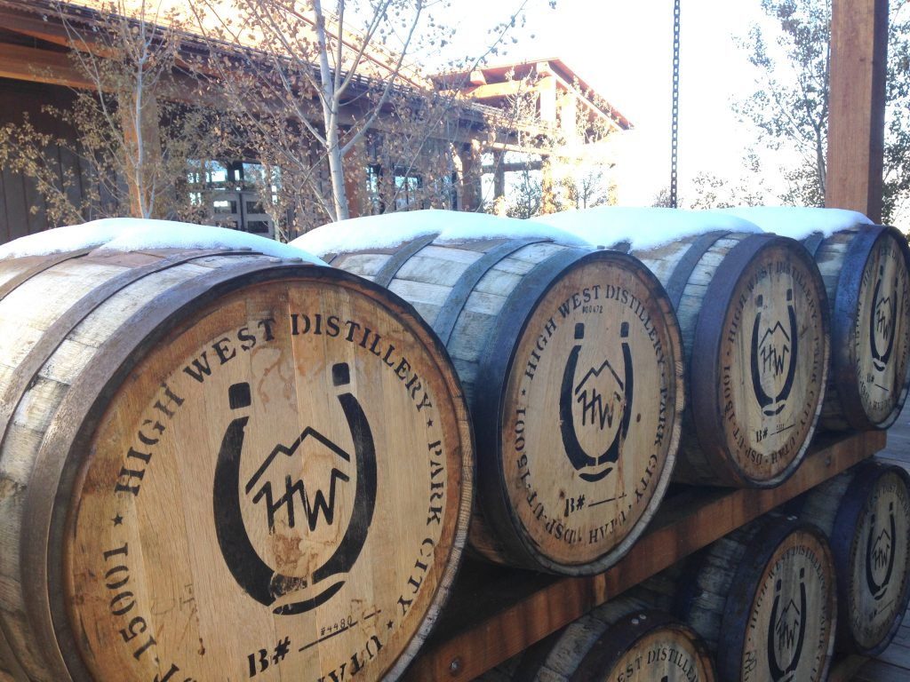 High West whiskey barrels