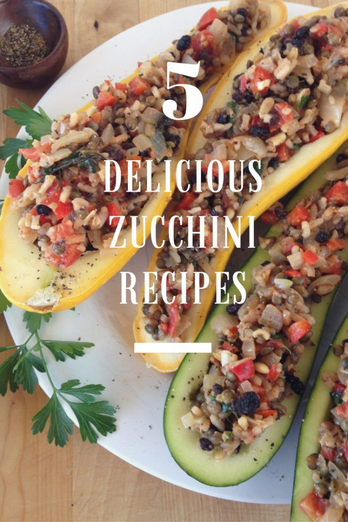5 Awesome Zucchini Recipes