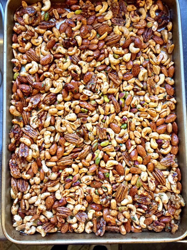 Chipotle Rosemary-roasted Nuts