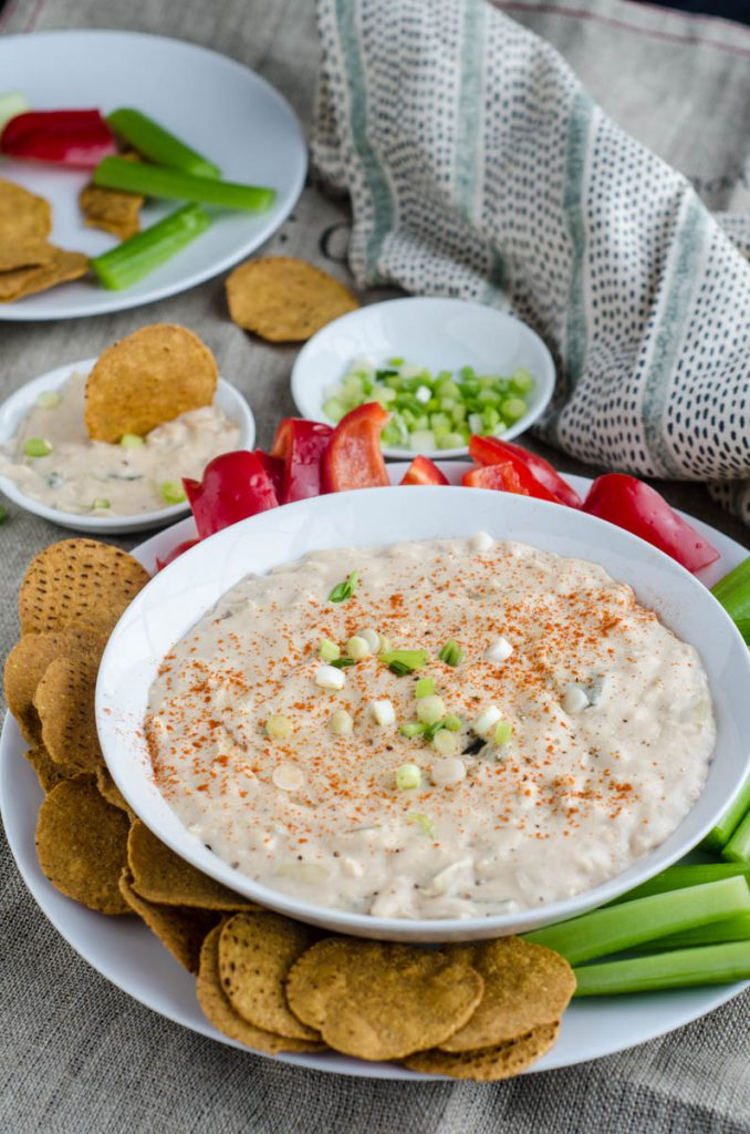 Goat Cheese Queso