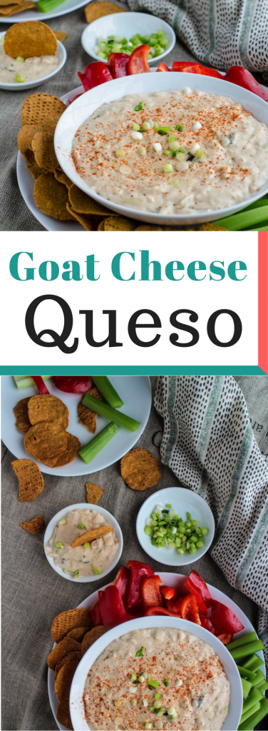 Goat Cheese Queso Pin