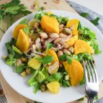 Golden Beet, White Bean, and Orange Salad