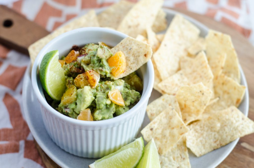 Guacamole with Clementines, aka, Cutie Guacamole