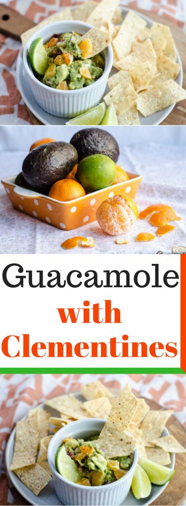 Guacamole with Clementines, aka, Cutie Guacamole