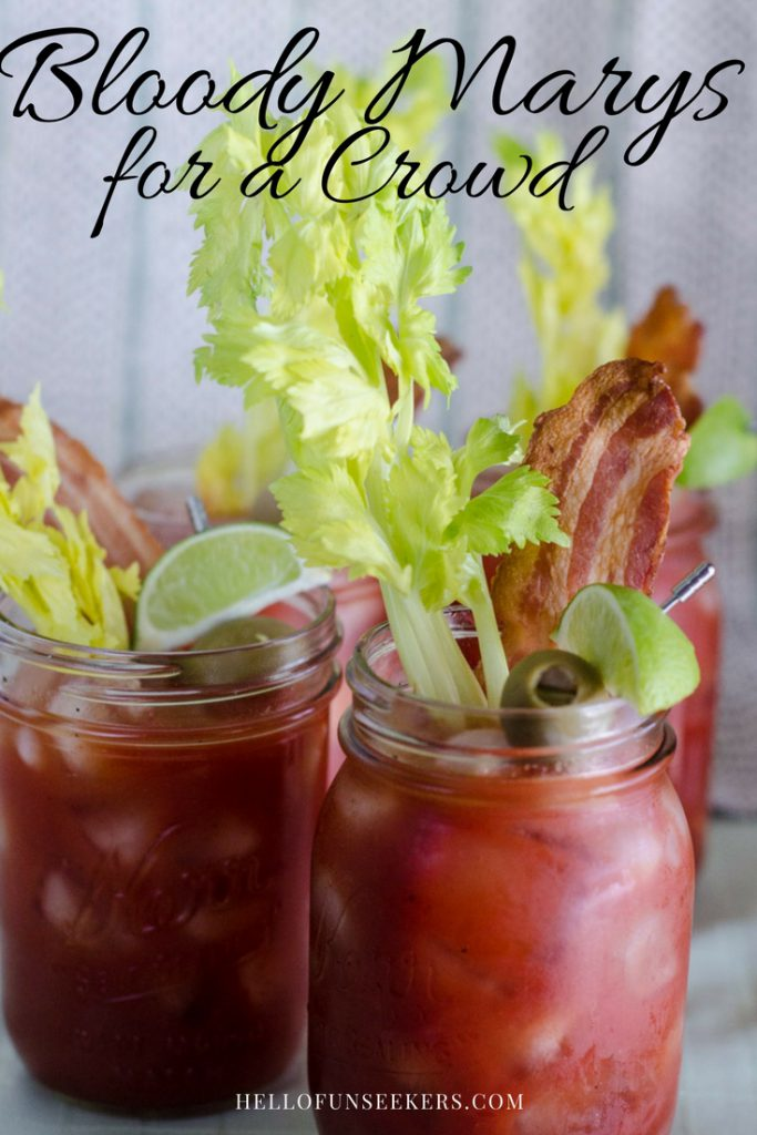Bloody Marys for a Crowd