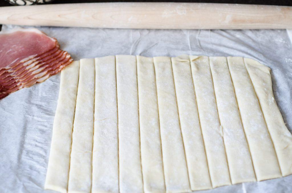 Parmesan Prosciutto Twists