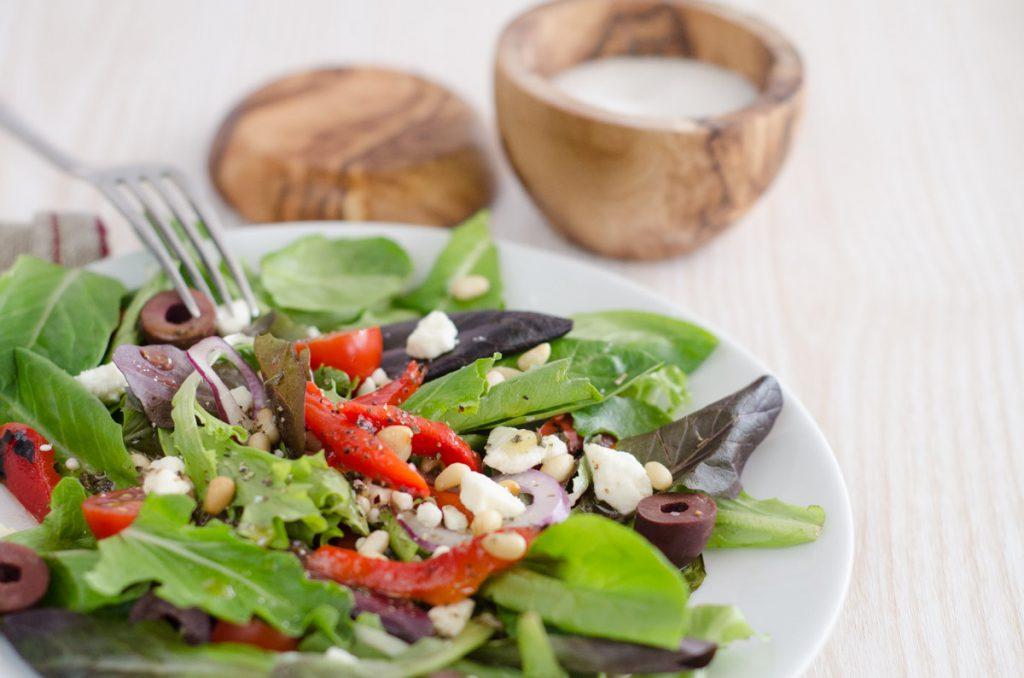 Mediterranean Spring Mix Salad