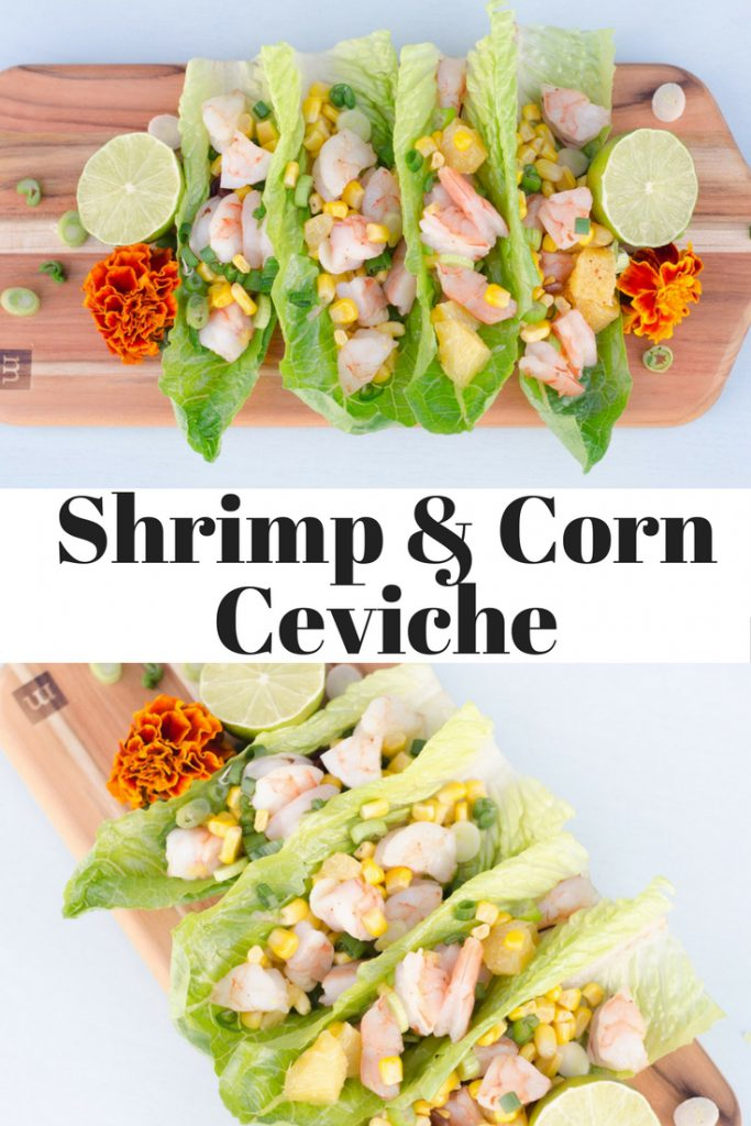 Shrimp and Corn Ceviche