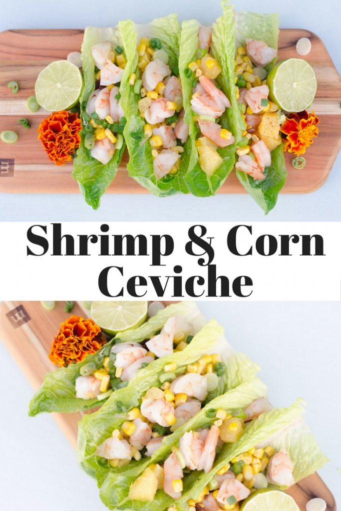 Shrimp and Corn Ceviche
