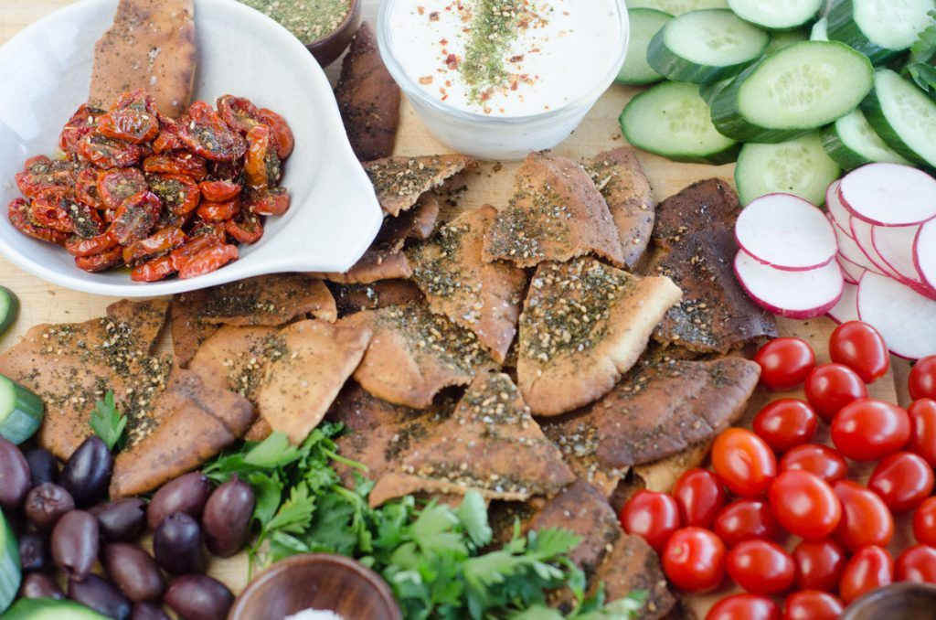 Za'atar Roasted Tomatoes