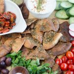 Za'atar Roasted Tomatoes with Pita Chips