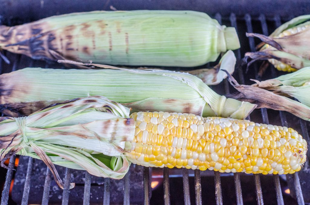 Grilled Mexican Street Corn with Spicy Mayo