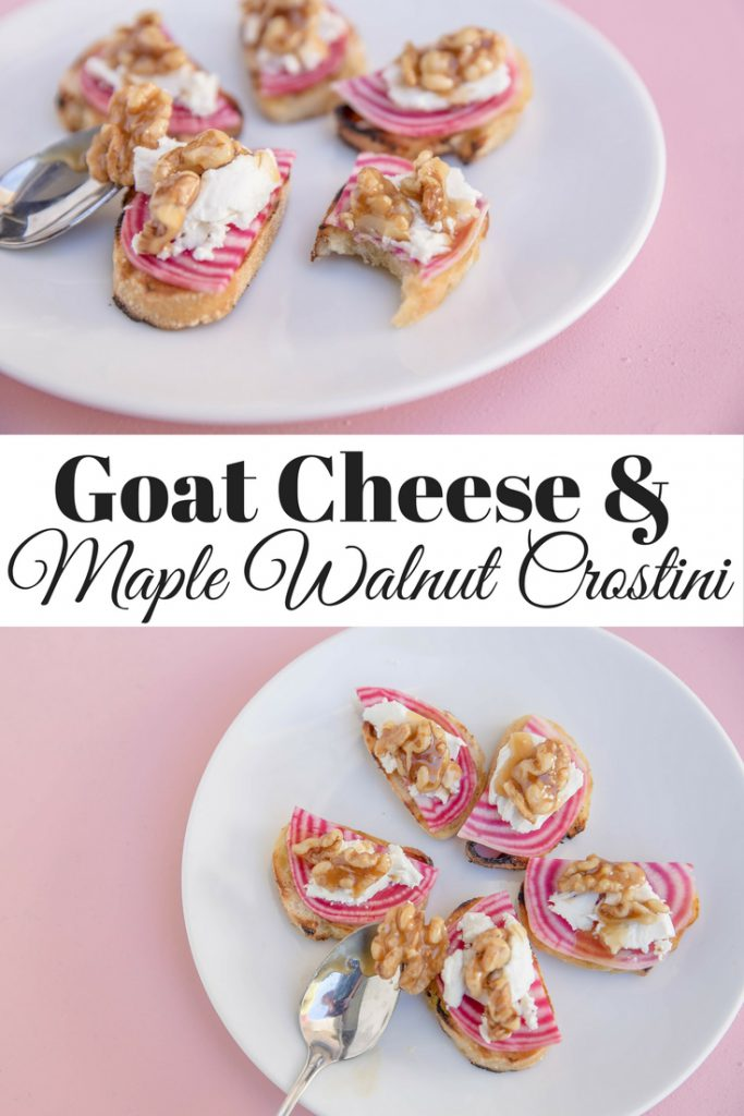 Maple Walnut Crostini pin