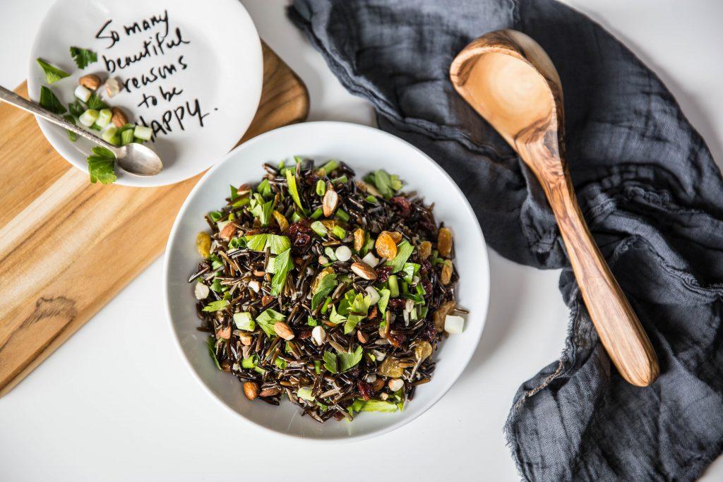 Wild Rice Salad overhead