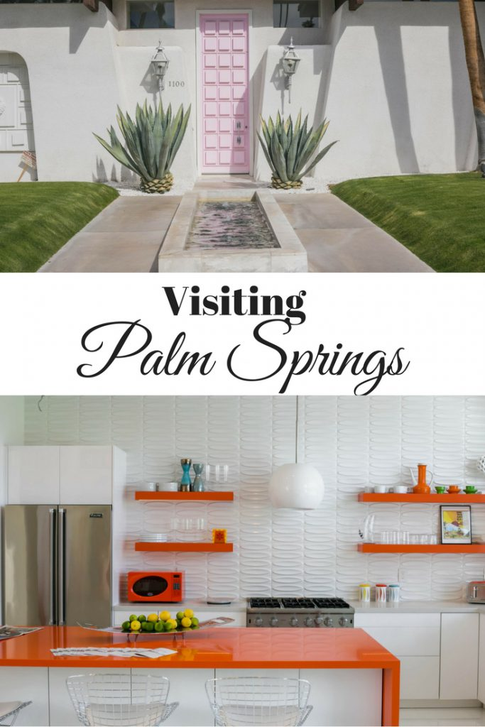 Vertical photos of Palm Springs